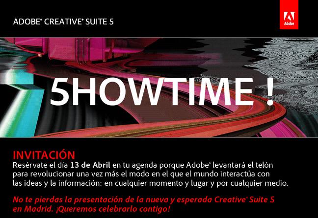 Y por fin llega Creative Suite CS5