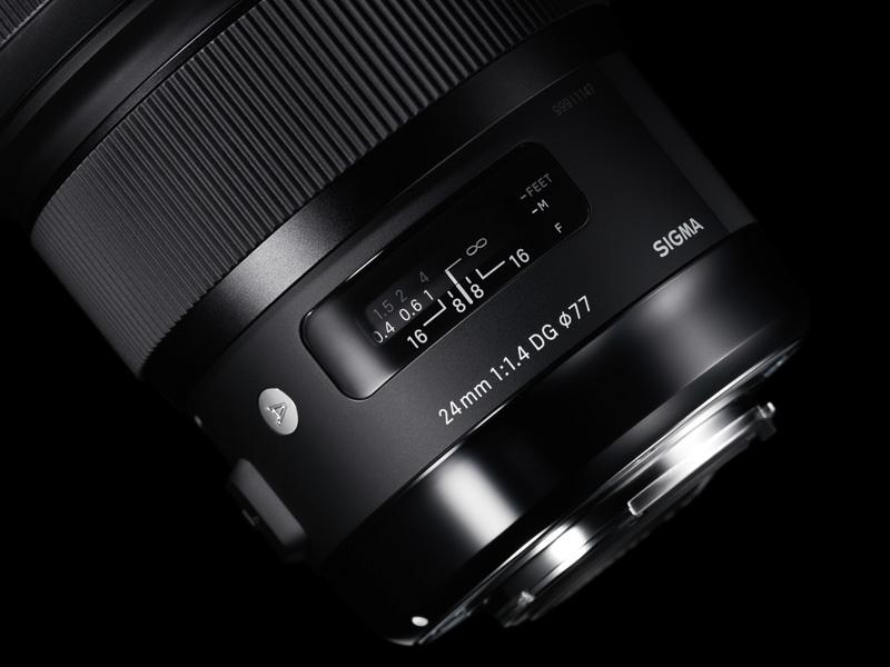 Nuevo objetivo Sigma 24mm F1.4 DG HSM ART
