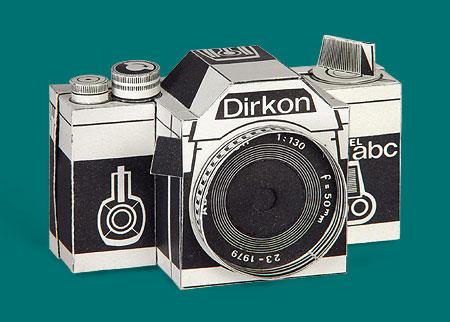 Cámara Fotográfica de Papel Dirkon