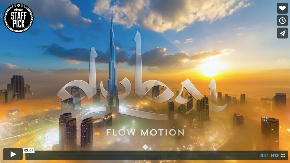"""Dubai Flow Motion"" de Rob Whitworth"