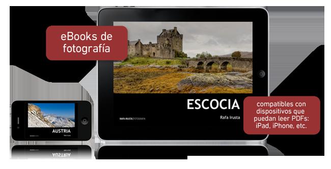 Rafa Irusta presenta sus eBooks Monográficos de Fotografía