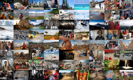 El Viaje, un libro solidario de fotos e historias viajeras