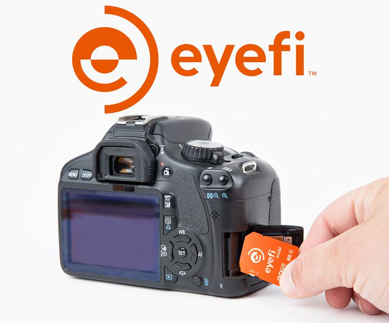 Dale a tu cámara funcionalidad WiFi con Eyefi