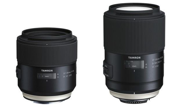 Nuevos objetivos Tamron: SP 90mm f/2,8 Macro y SP 85mm f/1,8