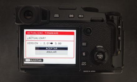 """""""Fujifilm X RAW Studio"""" y nuevos firmware de cámara"""