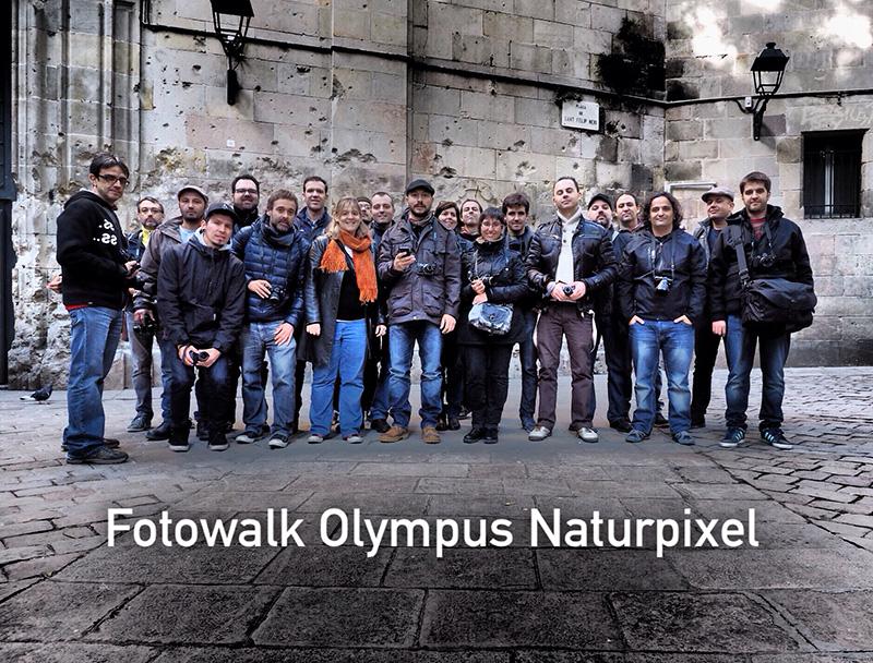 Así fue el Fotowalk Olympus por Barcelona