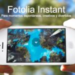 Vende tus fotografías del móvil con Fotolia Instant