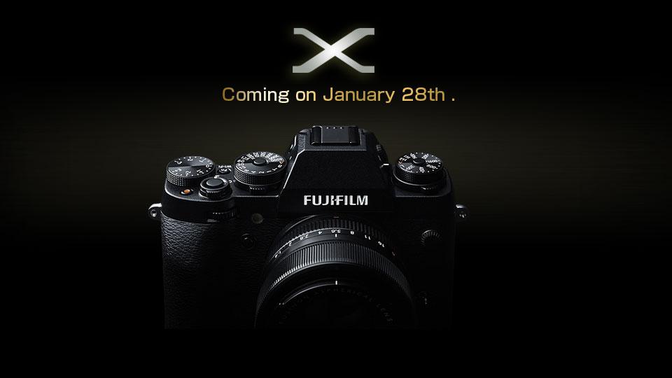 Nueva Fujifilm X el 28 de enero