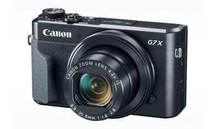Nueva Canon PowerShot G7 X Mark II con pocas novedades