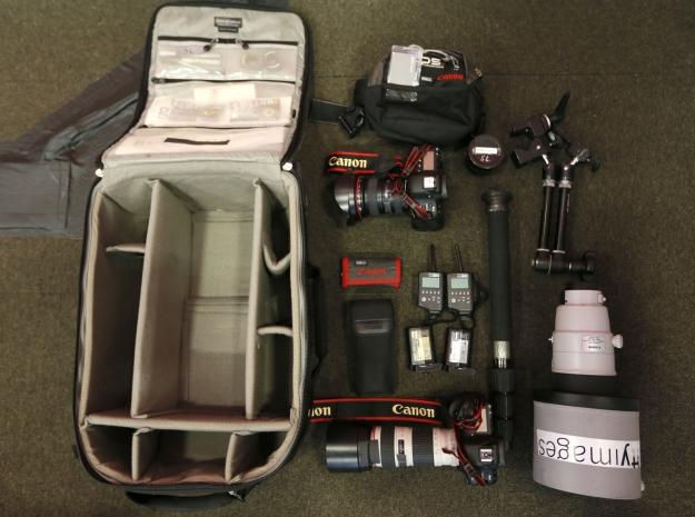 ¿Qué equipo fotográfico se utiliza para retratar los JJOO de Londres 2012?