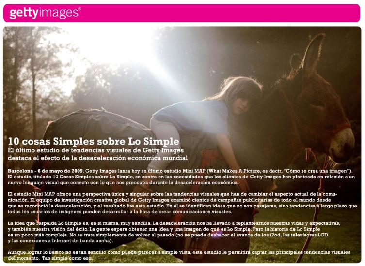"""10 cosas simples sobre """"Lo Simple"""" - Getty Images"""