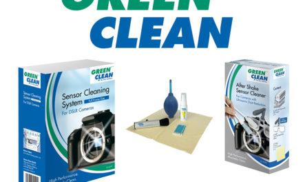Tu cámara y objetivos siempre limpios con Green Clean