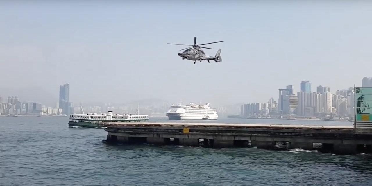"""Sincronizando el """"frame rate"""" y las aspas de un helicóptero"""