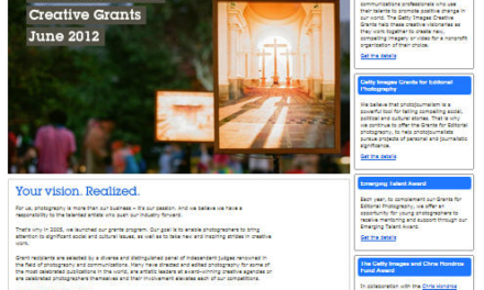 Getty Images abre la convocatoria para las Becas Creativas 2013