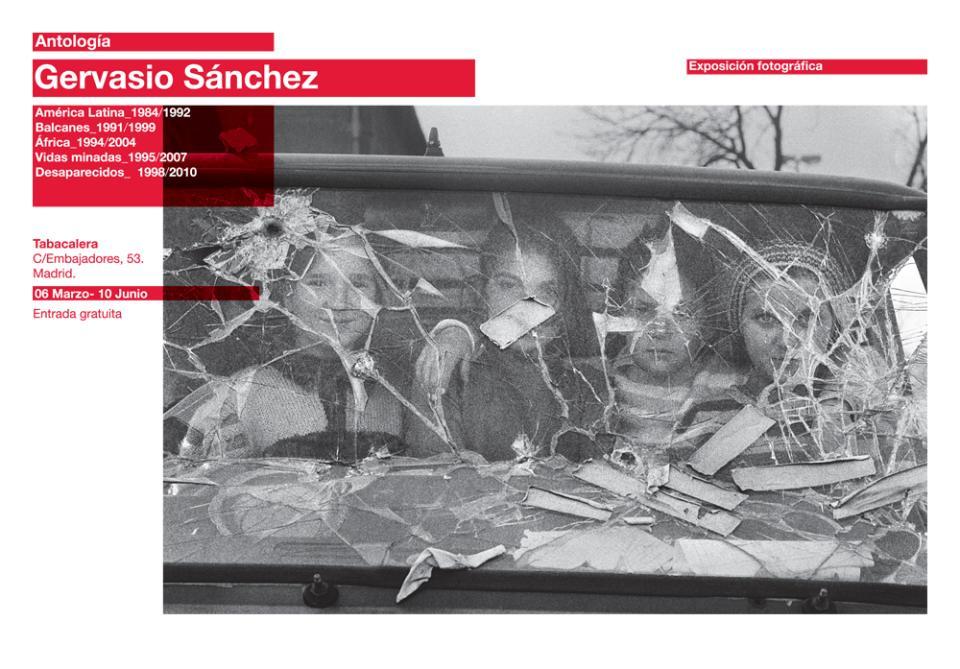 Gervasio Sánchez. Antología. Visita comentada del autor