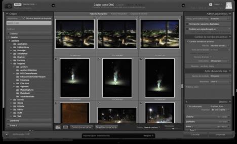 Lightroom 3 (II). Administración y catalogación de fotografías