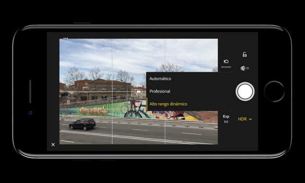 Lightroom Mobile añade captura HDR en formato Raw