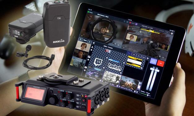 Streaming en Facebook y YouTube: hardware & software para situaciones de estudio y movilidad