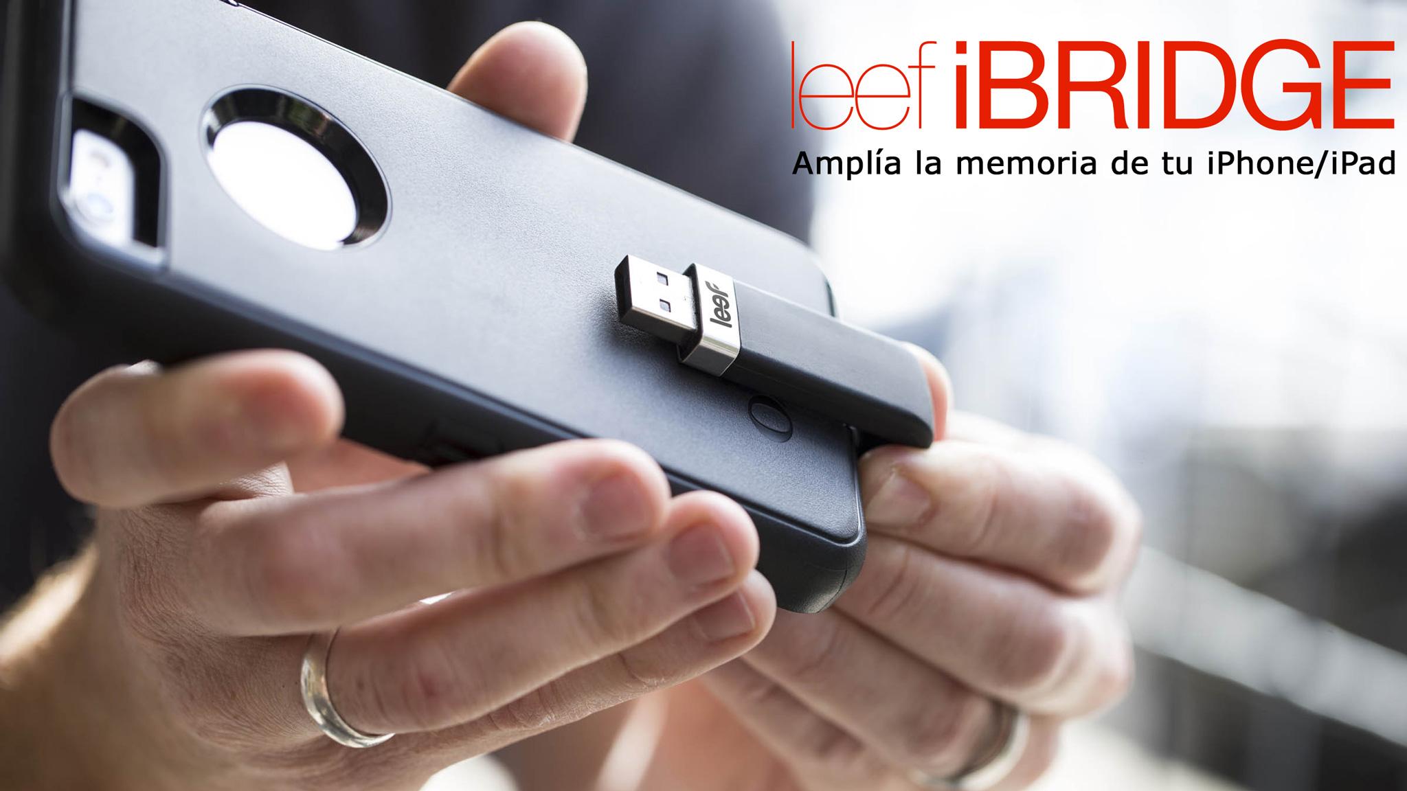 Amplía la memoria de tu iPhone/iPad con Leef iBridge