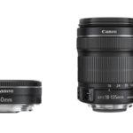 Canon presenta nuevos objetivos: EF-S 18-135 mm f/3,5-5,6 IS STM y EF 40 mm f/2,8 STM
