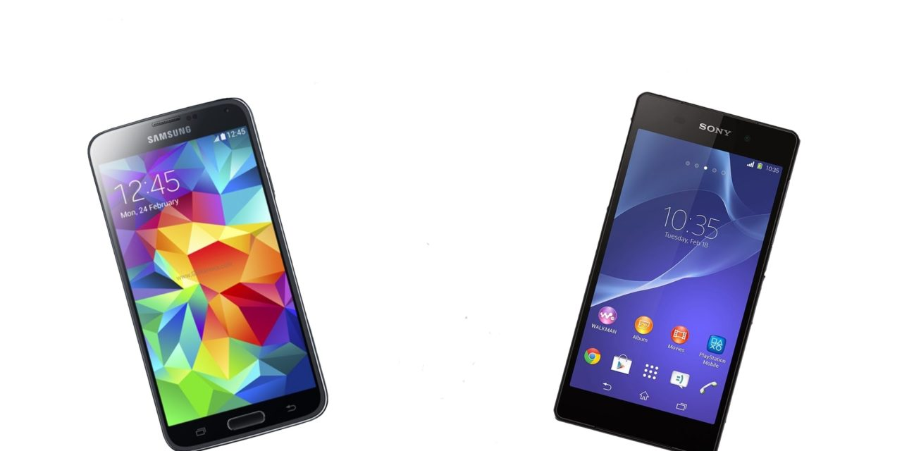 Sony Xperia Z2 vs. Samsung Galaxy S5