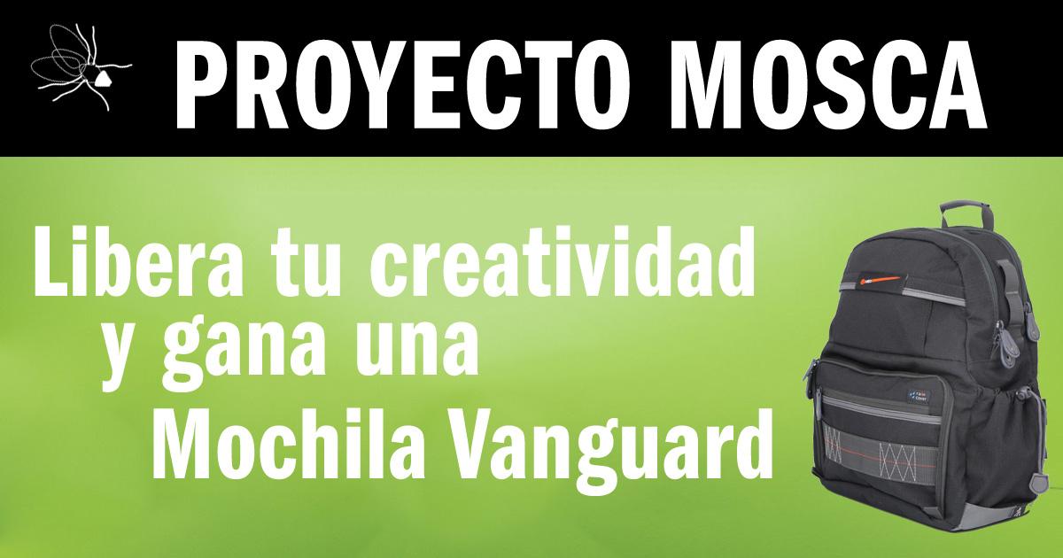 Proyecto Mosca, libera tu creatividad y gana una Vanguard VEO