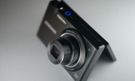 Samsung MV800, toma de contacto
