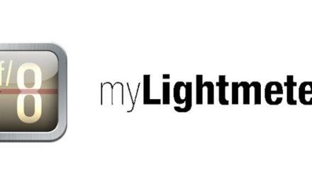 myLightmeter, un fotómetro en tu móvil