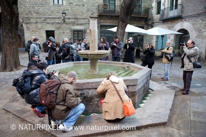 Curso de Fotografía Barcelona Fotowalk, 8 de enero 2011