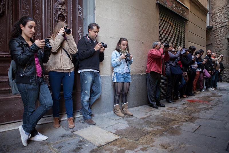 Curso de Fotografía Barcelona Fotowalk Born, 21 de abril de 2012