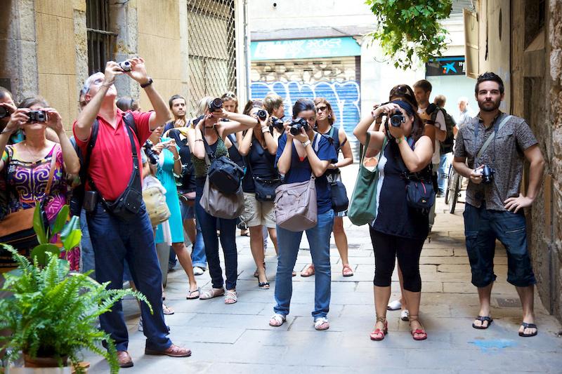 Curso de fotografía Barcelona Fotowalk, 17 de septiembre de 2011