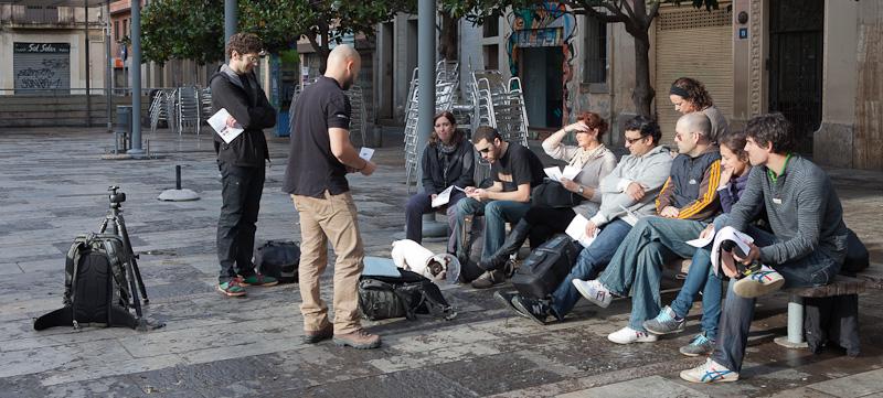 Curso de Fotografía Barcelona Fotowalk Gracia, 5 de noviembre de 2011
