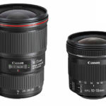 Nuevos objetivos de Canon: EF 16-35mm f/4L IS USM y EF-S 10-18mm f/4,5-5,6 IS STM