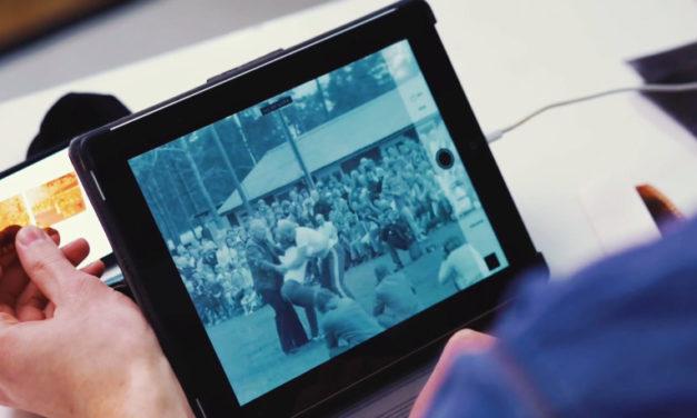 Como convertir un iPad y un iPhone en un visor de negativos