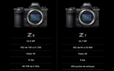 Nikon Z6 y Z7, las primeras cámaras del nuevo sistema Z de Nikon