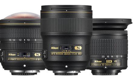 Nikon presenta tres nuevos objetivos gran angular