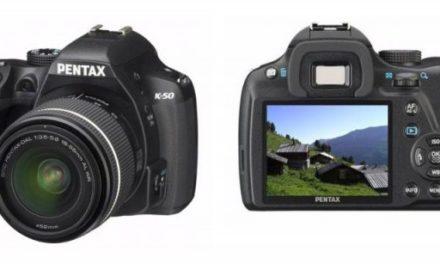 Pentax K-50 y Pentax K-500, nuevas réflex