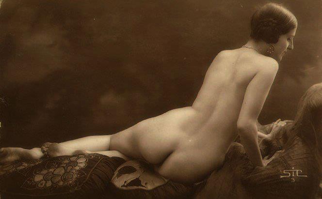 Postales eróticas antiguas