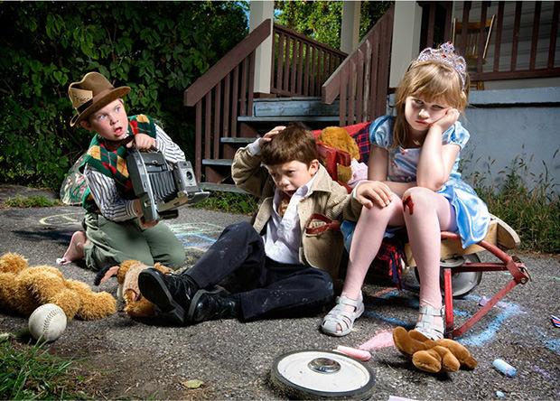 La reinterpretación de los niños de Jonathan Hobain