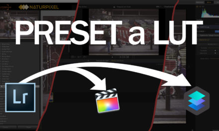 Convertir un preset de Lightroom a LUT (para Luminar, Final Cut Pro X…)