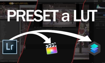 Convertir un preset de Lightroom a LUT (para Luminar, Final Cut Pro X…)