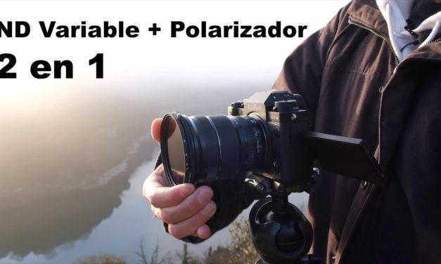 Probando el filtro ND Variable + Polarizador de K&F Concept