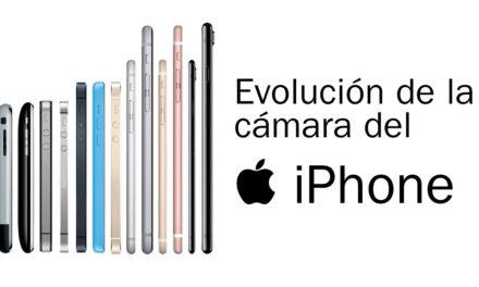 Evolución de la cámara del iPhone, desde el iPhone 1 al iPhone X