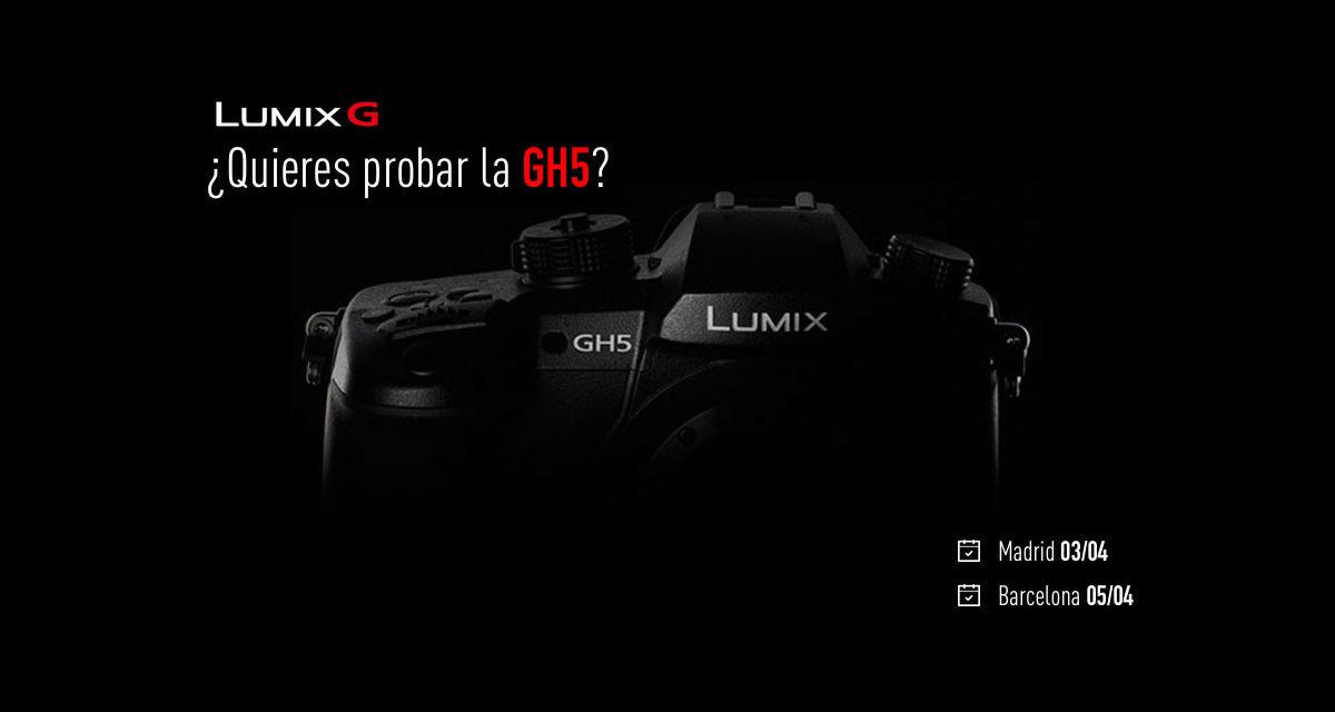 ¿Quieres probar la Panasonic GH5? Asiste a uno de los eventos de Madrid o Barcelona