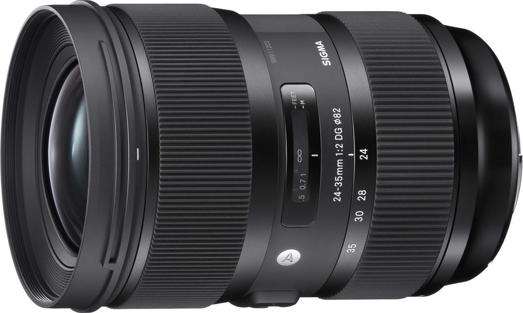 Nuevo objetivo Sigma 24-35mm F2 DG HSM ART