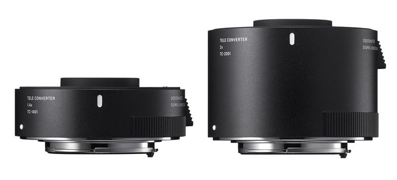 Sigma teleconvertidores TC-1401 y TC-2001