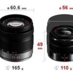 Nuevo objetivo LUMIX G VARIO 14-42 mm más compacto para micro 4/3