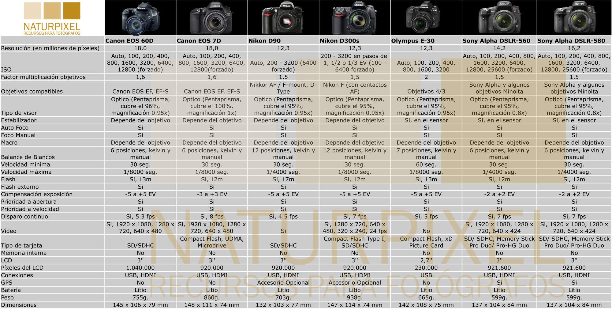 Especial Navidad 2010. ¿Qué cámara Réflex me compro? II