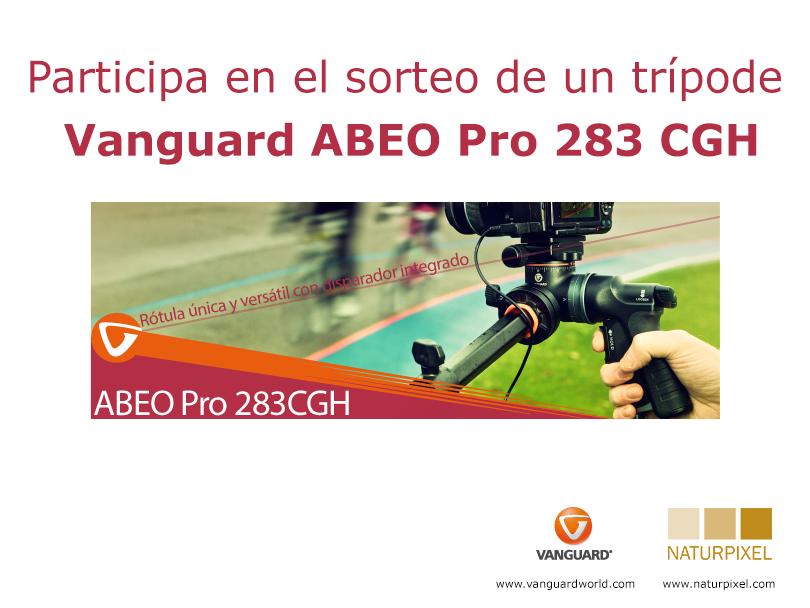 Sorteamos un trípode Vanguard Abeo Pro 283 CGH!