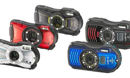 Nueva gama de cámaras acuáticas Ricoh